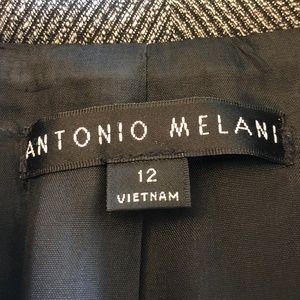 ANTONIO MELANI Jackets & Coats - Antonio Melani Elvin Herringbone Blazer Jacket